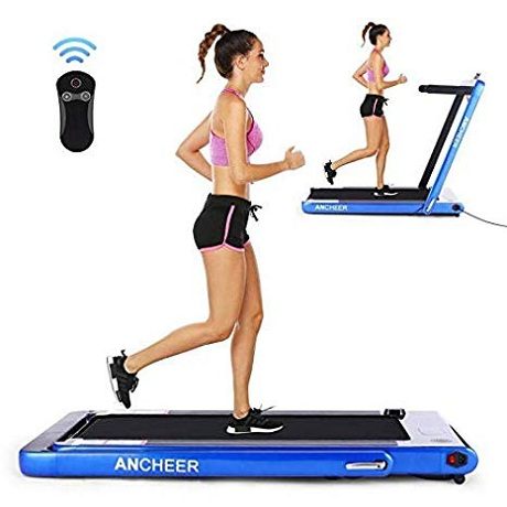 OppsDecor Under Desk 2-in-1 Treadmill
