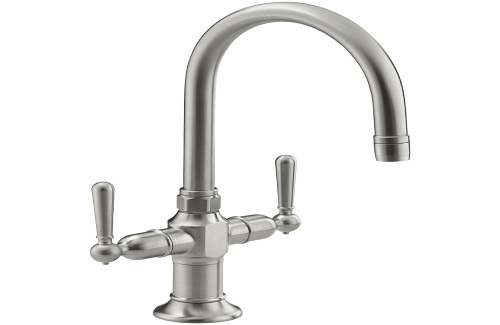 Two-Handle Single-Hole Kitchen Faucet
