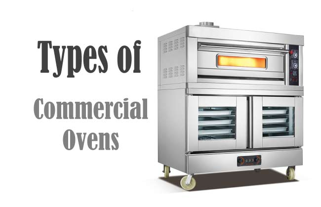 Types of commercial ovens